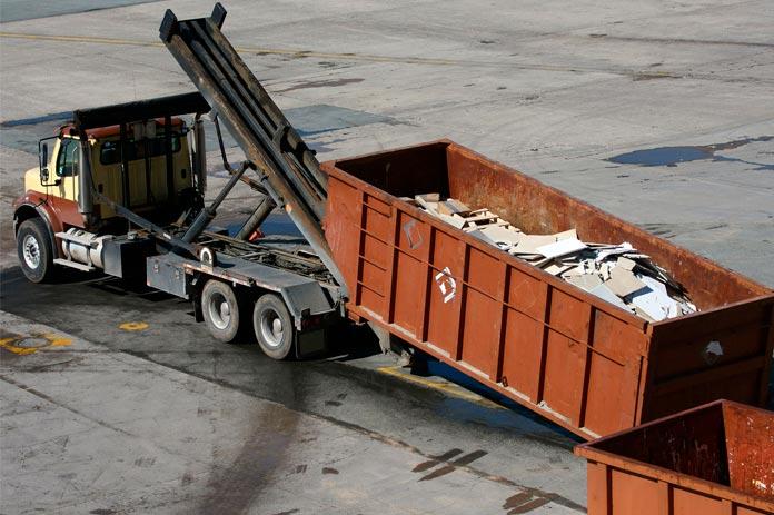 Куда выбрасывать строительный мусор